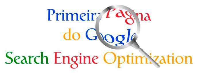 Primeira Página do Google   Otimização de Sites
