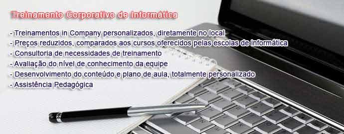 Treinamento Corporativo de Informática