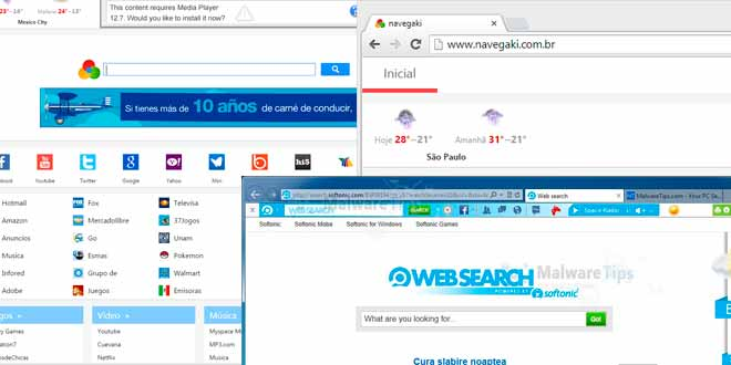 Como remover Atajitos, Hao123, Websearch, Navegaki e outros sequestradores de navegadores