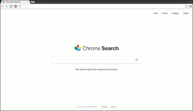 Chromesearch: Fake Search dos buscadores