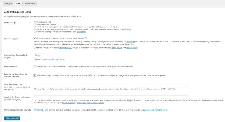 Autoptimize: Faça testes e otimize ainda mais o seu site WordPress