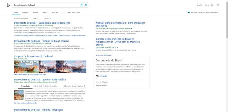 Bing Pesquisa - Descobrimento do Brasil