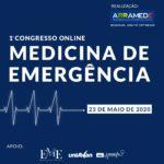 Maiores especialistas da medicina de emergência do Brasil participam de congresso gratuito online sobre os desafios da especialidade nos tempos da Covid-19